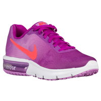 Nike Air Max Sequent - Girls' Grade School - Purple / Orange