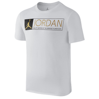 Jordan Retro 12 The Greatest T-Shirt - Men's - White / Gold