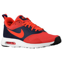 Nike Air Max Tavas - Men's - Orange / Navy