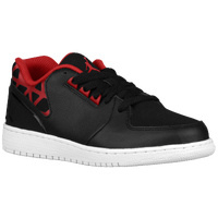 Jordan 1 Flight 3 Low - Boys' Grade School - Black / Red