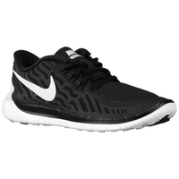 Nike Free 5.0 2015 - Boys' Grade School - Black / Grey