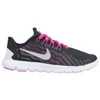 Nike Free 5.0 2015 - Girls' Preschool - Black / Pink