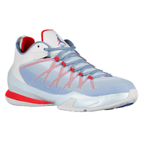 Jordan CP3.VIII AE - Men's -  Chris Paul - White / Light Blue