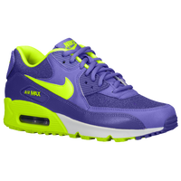 Nike Air Max 90 - Women's - Purple / Light Green