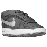 Nike Air Force One Crib - Boys' Infant - Grey / White