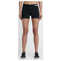 "Nike Pro 3"" Cool Shorts - Women's - Black / White"
