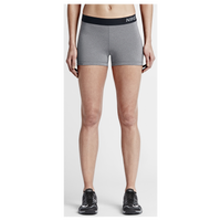 "Nike Pro 3"" Cool Shorts - Women's - Grey / Black"