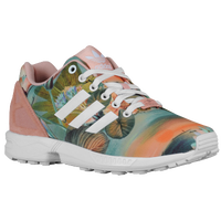 adidas Originals ZX Flux - Women's - Pink / Multicolor