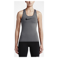 Nike Pro Cool Tank - Women's - Grey / Black