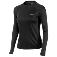 ASICS� Feather Lyte Long Sleeve Top - Women's - Black / Black