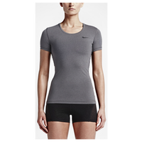 Nike Pro Cool Shortsleeve - Women's - Grey / Grey
