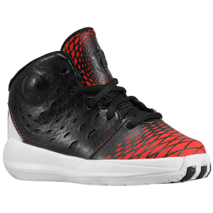 adidas Rose 3.5 - Boys' Toddler - Black/Light Scarlet/White