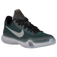 Nike Kobe X Elite - Boys' Grade School - Dark Green / Black