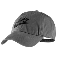Nike Heritage86 Swoosh Cap - Men's - Grey / Black