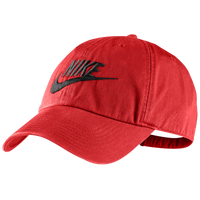 Nike Heritage86 Swoosh Cap - Men's - Red / Black