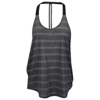 Nike Elastika Elevate Tank - Women's - Black / Grey
