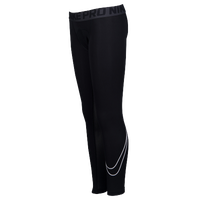 Nike Pro Cool Comp Tights - Boys' Grade School - Black / Grey