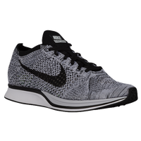 Nike Flyknit Racer - Men's - White / Black