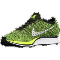 6b1bc2c9714c4 Nike Flyknit Racer - Men s - Light Green   Black