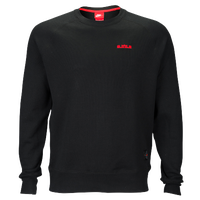 Nike LeBron Pullover Fleece Top - Men's -  Lebron James - Black / Red