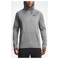 Nike Therma Hoodie - Men's - Grey / Grey