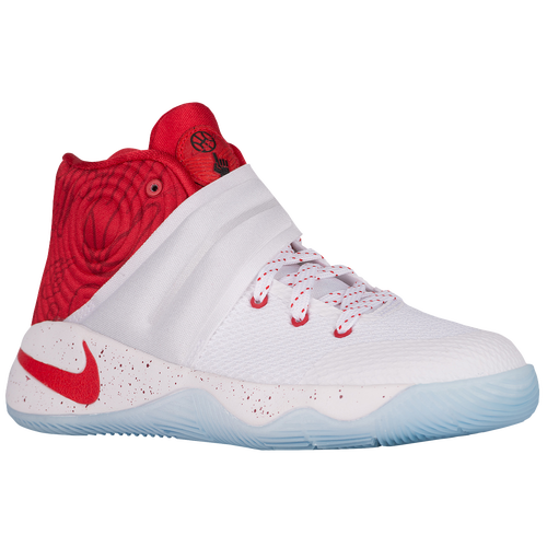 red white and blue kyrie irving shoes for kids