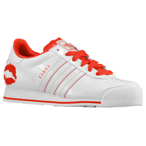 adidas Originals Samoa - Women's - White/White/Vivid Red