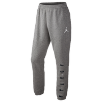 Jordan Jumpman Graphic Tapered Pants - Men's - Grey / Black