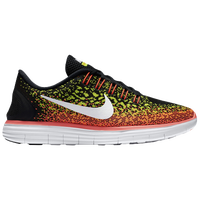 Nike Free RN Distance - Women's - Black / Orange