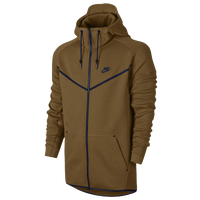 Nike Tech  Hero Full Zip Fleece - Men's - Gold / Navy