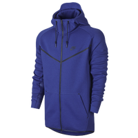 Nike Tech  Hero Full Zip Fleece - Men's - Blue / Navy