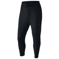 Nike Tech Cropped Pants - Men's - All Black / Black