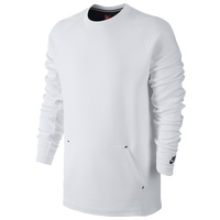 Nike Tech Fleece Crew Hypermesh - Men's - All White / White