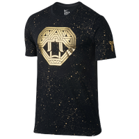 Nike Kobe Snake Perfection T-Shirt - Men's -  Kobe Bryant - Black / Gold