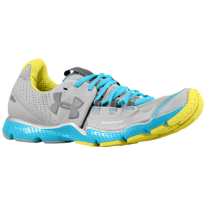 Under Armour Charge RC - Women's - Silver/Capri/High-Vis Yellow/Silver