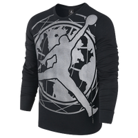 Jordan Toronto 2016 Long Sleeve T-Shirt - Men's - Black / Grey