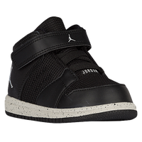 Jordan 1 Flight 4 - Boys' Toddler - Black / Off-White