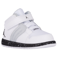 Jordan 1 Flight 4 - Boys' Toddler - White / Grey