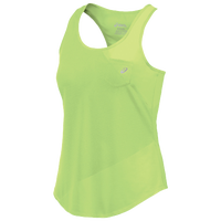 ASICS� Fuzex Mesh Mix Tanks - Women's - Light Green / Light Green