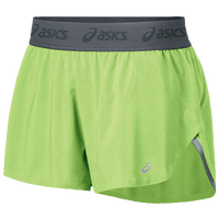 "ASICS� 2.75"" Fuzex Split Shorts - Women's - Light Green / Grey"