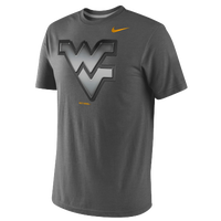 Nike College Stealth Tri-Blend T-Shirt - Men's - West Virginia Mountaineers - Black / Gold