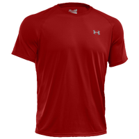 Under Armour Heatgear Tech Shortsleeve T-Shirt - Men's - Red / Red