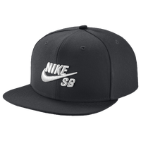Nike SB Icon Snapback Cap - Men's - Black / White