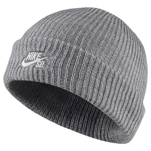 Nike SB Wrap Beanie - Men's - Grey / White