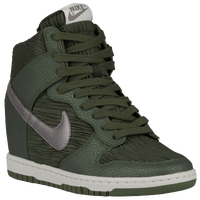 Nike Dunk Sky Hi - Women's - Dark Green / Green