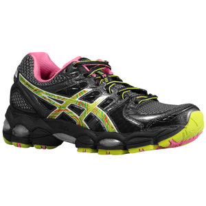 ASICS� GEL-Nimbus 14 - Women's - Black/Digital/Neon Pink