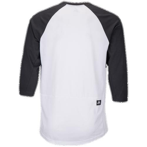 Nike SB 3QT GFX Dry Top - Men's - White / Black