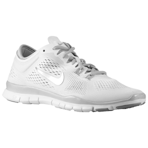 Nike Free 5.0 TR Fit 4 - Women's - White/Metallic Silver