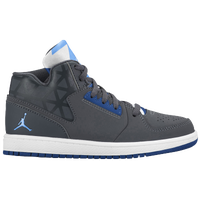 Jordan 1 Flight 3 - Boys' Preschool - Grey / Light Blue
