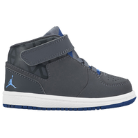 Jordan 1 Flight 3 - Boys' Toddler - Grey / Light Blue